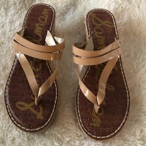 Sam Edelman Rasha Wedge Sandal Size 8